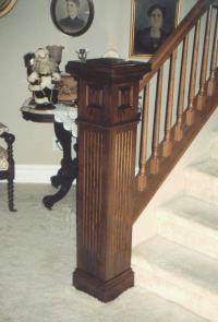 L. J. Smith Stair Parts Available. See L. J. Smithu0027s Web Site For  Information And Design Ideas. Custom Box Newels, Such As That Pictured  Below, ...