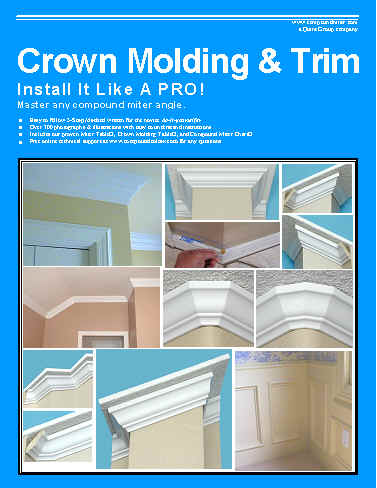 Miter Cuts Crown Molding